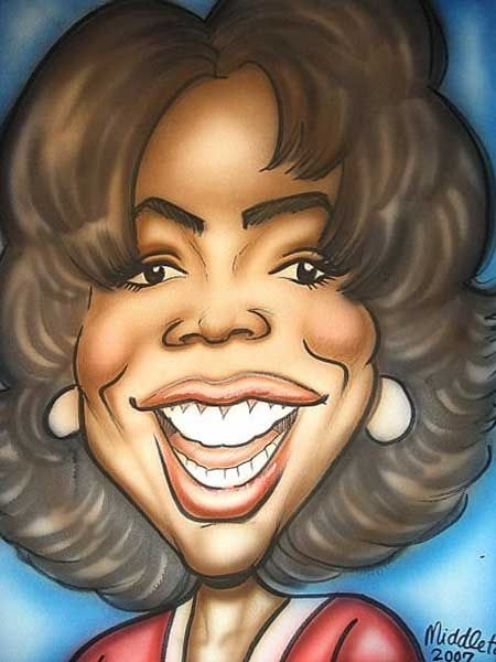 Pinterest Oprah Winfrey (by Keith Middleton)